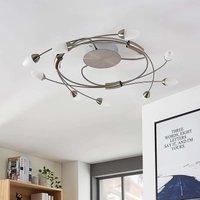 Round  nine bulb LED ceiling light Deyan  dimmable