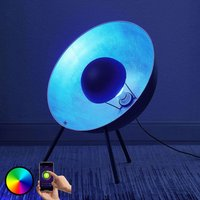 LED table lamp Muriel  tripod  60 WiFi black sil