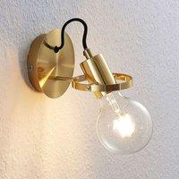Lindby Mirtel wall light  matt brass