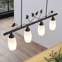 Lindby Isalie LED linear pendant light  four bulb