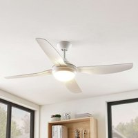 Arcchio Inja LED ceiling fan 4 blade  white