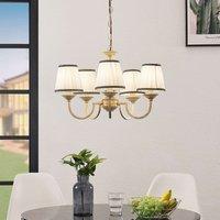 Lindby Lumiel chandelier  five bulb