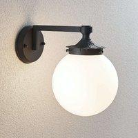 Elyesa spherical outdoor wall light