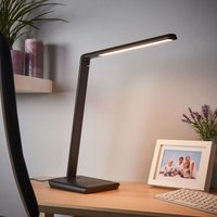 Kuno   LED desk lamp with USB port