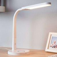 White LED desk lamp Maily  USB port