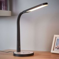 Maily dimmable LED table lamp with USB port