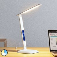 Lindby Ludmilla LED table lamp  display  white