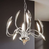 12 bulb Hampton LED pendant light