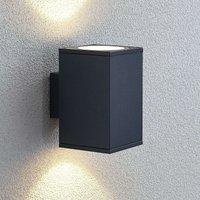 Mekita LED outdoor wall lamp  two bulb