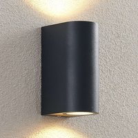 ELC Fijona LED outdoor wall lamp  round  15 cm