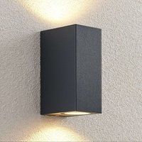 ELC Fijona LED outdoor wall lamp  angular  15 cm