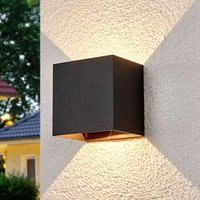 Evie   outdoor wall light with LEDs