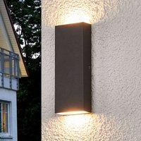 Flat LED outdoor wall lamp Corda