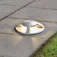 Anina LED recessed floor light  aluminium