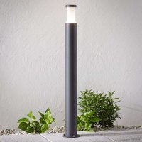 Amily LED path light  dark grey  90 cm