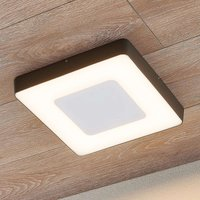 Sora LED outdoor ceiling light  angular