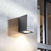Lavina outdoor spotlight  dark grey GU10 1 bulb