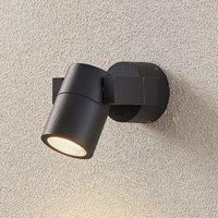Kavuna outdoor spotlight  dark grey IP54 round