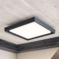 Birta LED outdoor ceiling light  angular  34 cm
