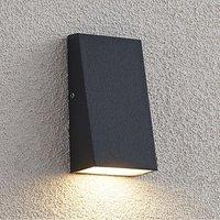Lucande Adarey LED outdoor wall lamp  IP54