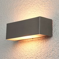 Rectangular wall lamp Alicia for outdoors