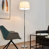 Floor lamp Maive with fabric lampshade