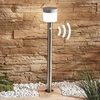 Cathleen LED solar path light  stainless steel