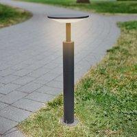 Anthracite coloured LED path light Fenia