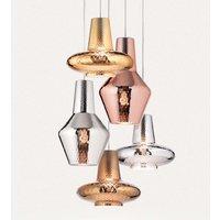 Romeo hanging light 130 cm metallic silver