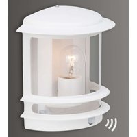 Hollywood outdoor wall light   w  motion detector