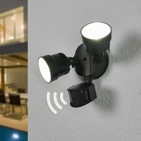 Shrimp LED outdoor spotlight with MS  12 W