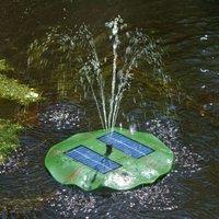 Seerose   floating solar pond pump