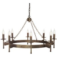 Cromwell Chandelier Medieval Eight Bulbs
