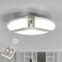 Adjustable LED ceiling light Aurela  white  3 bulb