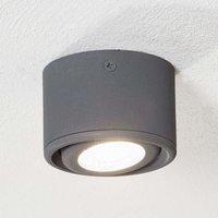 Pivotable head   Anzio LED downlight  anthracite