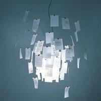 Customisable designer hanging lamp Zettel z 6