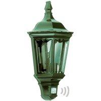 Practical outdoor wall light Ancona  green