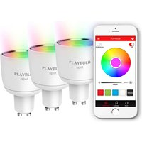MiPow Playbulb Spot 3 RGB LED bulbs GU10 4W