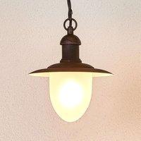 Nostalgic Cottage hanging light for outdoors