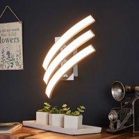 Three bulb LED wall light Largo