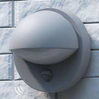 Energy saving outdoor wall light Vida grey BW