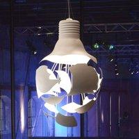 Unique designer hanging light Broken Bulb