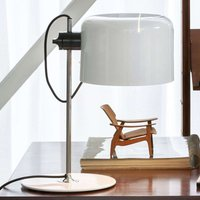 Coup    timeless designer table lamp white