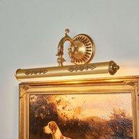 Decorated picture light ELIGIO 55 cm