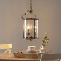 Lantern shaped hanging light RAMIRA