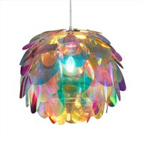 Hanging light Clover in rainbow colours