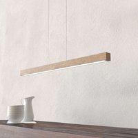 Smal naturally designed 12 W LED hanging light