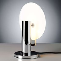 De Stijl table lamp with a chrome plated frame