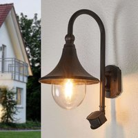 Daphne   outdoor wall light with motion detector