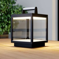 LED table lamp Cube for outdoors  rechargeable